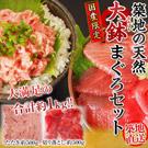 ◆贅沢・天然マグロ2種食べ比べ◆3500ポイント