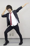 「プリプリムーン」を踊る七島希役の河本啓佑さん