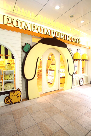 ポムポムプリンカフェ原宿店