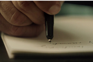 モンブランのペンとノート