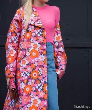 ニューヨーカーに学ぶ、おとなの春ピンクの着こなし方